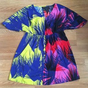 Lane Bryant Plus Size Fit & Flare Scuba Dress